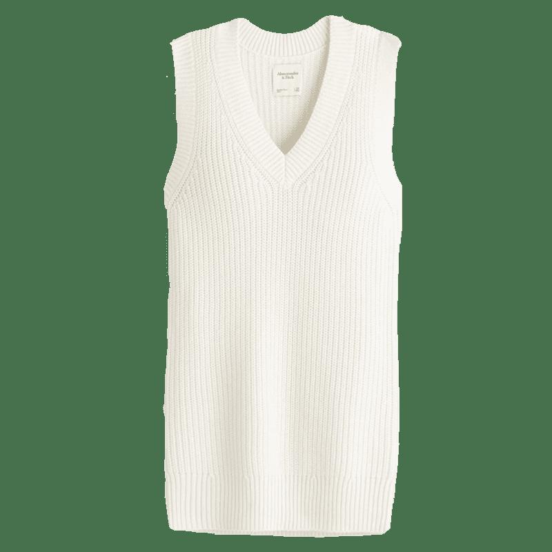 Sweater Vest Mini Dress